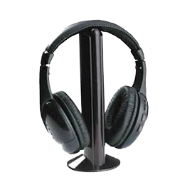 Casque sans fil Connexion USB, Audio, Transmission 2.4GHz