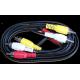Câble vidéo /son RCA