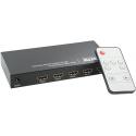 Commutateur 3 voies HDMI audio/vidéo, Télécommande