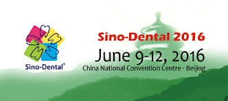 SINO-DENTAL 2016 9-12 June 2016
